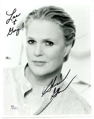 Sharon Gless Signed Autographed 8x10 Photo JSA COA Cagney & Lacey
