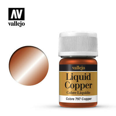 Vallejo Liquid Gold Metals Paint - Choose Mix any 35ml Bottle from Full Range