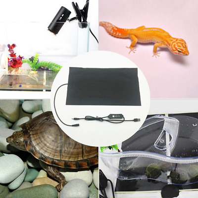 Upgraded Reptile USB Heating Pad Turtle Lizard Snake Brooder Incubator Warm Mat