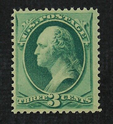 CKStamps: US Stamps Collection Scott#158 3c Washington Mint NH OG Spot