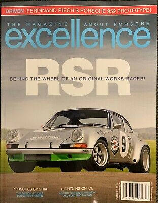 Excellence Magazine  -  October  2019 . -  Rsr