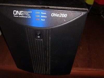 Oneac  One200 Power Conditioner UPS