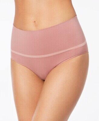 SPANX Women's Everyday Shaping Panties Brief Rose Pink Plus Size 1X NEW $45