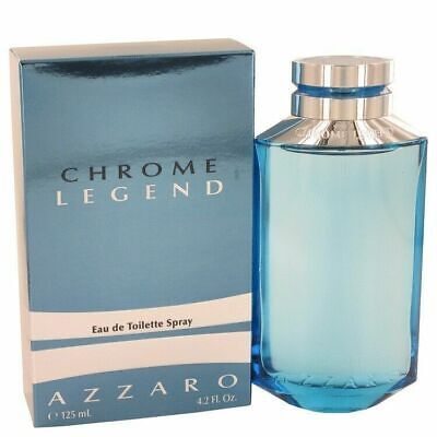 Chrome Legend by Azzaro Eau De Toilette Spray 4.2 oz / 125 ml (Men)