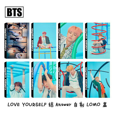 30PCS Kpop BTS Love Yourself 结Answer Lomo Card Bangtan Boys Photocard SUGA JIMIN