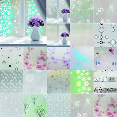 Wildflower Static Window Films Vvivid Vinyl privacy frosted wrap decal TM148-001