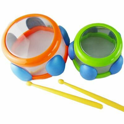 Baby Mini Drum Bath Percussion Musical Toys Set Kids Grasping Educational Toys