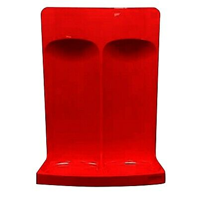 FIREGUARD STAN026/FSS Commander Red Double Fire Extinguisher Stand