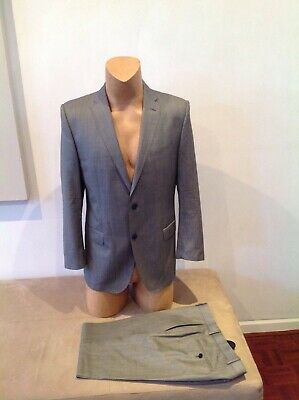 Mens Grey Suit By Joop ..size 50 ...2 Button Modern Fit...