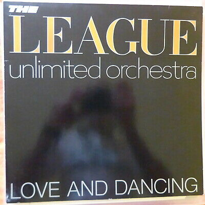 The League Unlimited Orchestra Lp Love And Dancing 1982 Europe Vg++/Vg++