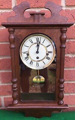 Hermle Westminster Chimes, Silent Strike pendulum 8 Day wall Hanging clock
