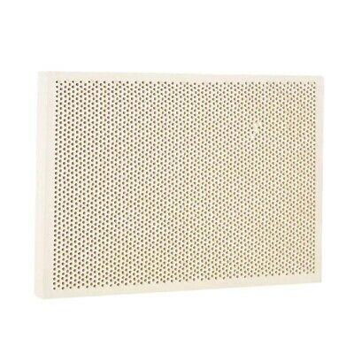 2X(Wood Honeycomb Soldering Board Plate For Jewelry Heating Paint Printing 1Q7)
