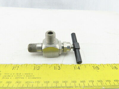 "Western Enterprises SS-120M Cartridge Valve 1/4""NPT Male 6000 PSI"