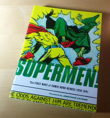 Supermen: The First Wave of Comic Book Heroes 1936-1941, Fantagraphics 2009