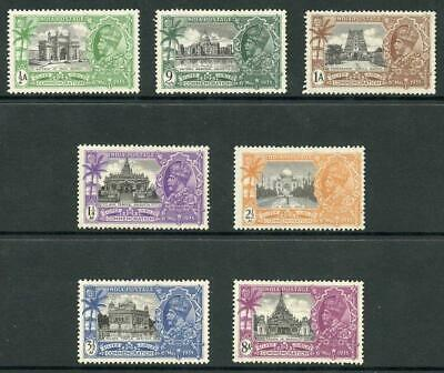 India SG240/6 1935 Silver Jubilee Set m/m