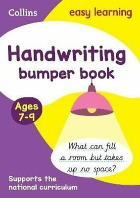 Handwriting Bumper Book Ages 7-9 by Collins Easy Learning 9780008151447