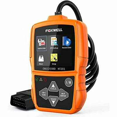 Foxwell NT201 Auto OBD2 Scanner Check Car Engine Light Fault Code Reader II