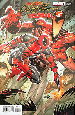 LIEFELD CONNECTING VA ABSOLUTE CARNAGE VS DEADPOOL #1 OF 3 8//21//19