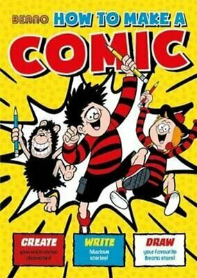 Beano How To Make a Comic by Nigel Parkinson 9781787415263 | Brand New