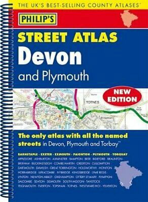 Philip's Street Atlas Devon 9781849074308 | Brand New | Free UK Shipping