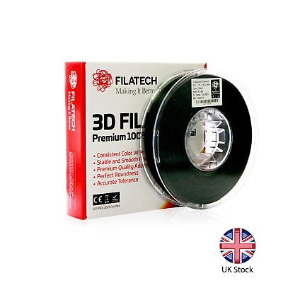 3D Printer 1.75mm FilaCarbon ABS-Carbon Fiber Filament Filatech Made in UAE