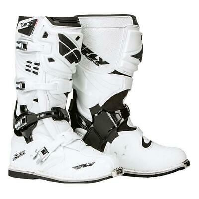 FLY RACING Sector Motocross Stiefel weiss ATV Offroad Enduro MX Cross