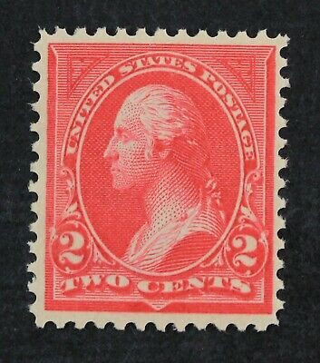 CKStamps: US Stamps Collection Scott#265 2c Washington Mint NH OG Tiny Gum Skip