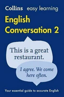 Easy Learning English Conversation Book 2 by Collins Dictionaries 9780008101756