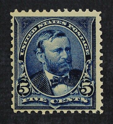 CKStamps: US Stamps Collection Scott#281 5c Grant Mint NH OG Fingerprint on Gum