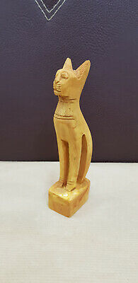 Bastet Egyptian Cat Statue Goddess Figurine Egypt Sculpture Bast stone antique