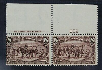 CKStamps: US Stamps Collection Scott#289 8c Mint NH OG Pair