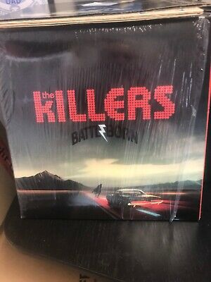 KILLERS, The - Battle Born - Vinyl (2xLP) Limited Edition Red Vinyl New Un