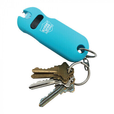 SMART Keychain Stun Gun TEAL 24,000,000 volts