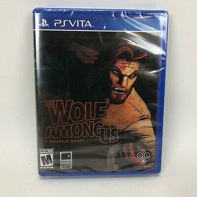 The Wolf Among Us (Sony PlayStation Vita, 2014) Brand New Sealed
