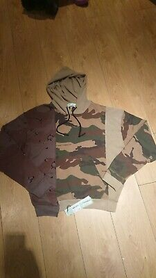 Off White Off Recon Hoody Sn84 Camo All Over Size Large RRP £585. 100% genuine