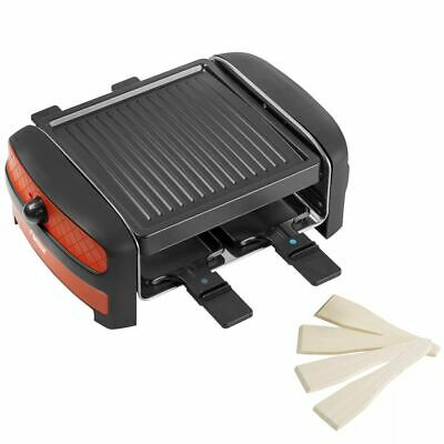 Bestron Appareil à raclette gril multi-cuissons Barbecue de table 600 W ARC400