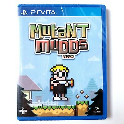 Mutant Mudds Deluxe (Sony PlayStation Vita, 2017) #53 Limited Run New Sealed