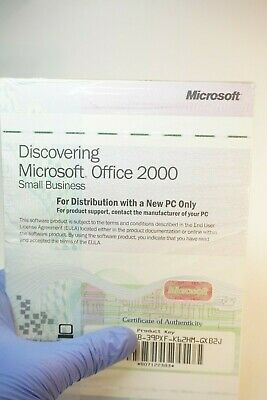 NEW MICROSOFT OFFICE 2000 Discovering Small Business PC