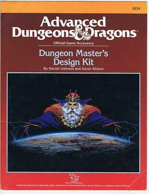 Dungeon Master's Design Kit (incomplete)(Advanced Dungeons Dragons TSR #9234)