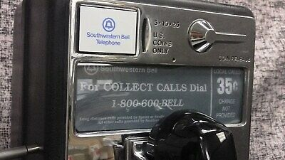 PayPhone AT&T Western Electric Vintage SouthWestern Bell TT Home Use Only