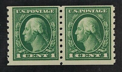 CKStamps: US Stamps Collection Scott#412 1c Washington Mint NH OG 24 1/2mm