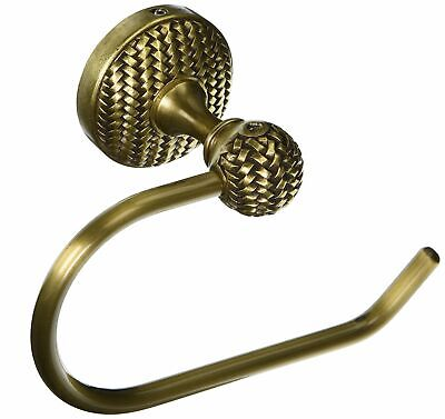 Vicenza Designs TP9003 Cestino French Toilet Paper Holder, Antique Brass