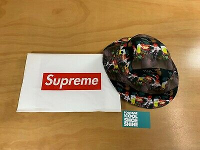 93a9bff34 SUPREME COMME DES Garcons Cdg Reversible Crusher Bucket Hat Ss14 Red Box  Logo