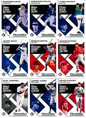 2019 Panini Chronicles - CHRONICLES BASE CARDS #s 1-50 - U Pick From List