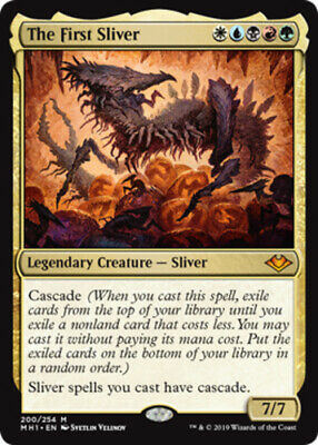 The First Sliver Modern Horizons Magic mtg Light Play, English x1 1x