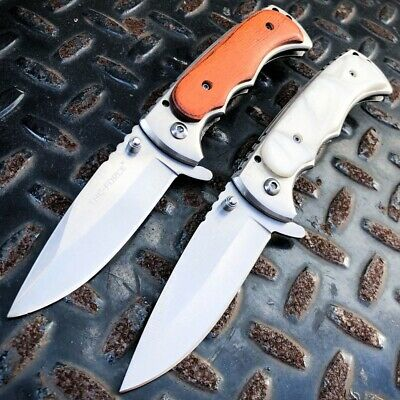 TAC-FORCE Tactical Spring Assisted Open FOLDING Camping BLADE Pocket Knife NEW
