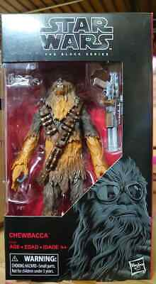 "HASBRO STAR WARS THE BLACK SERIES 6"" INCH [CHEWBACCA] Action Figure in stock"