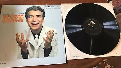 Brother Dave Gardner Record Rejoice Dear Hearts 1959 Vintage RCA Victor Lpm 2083