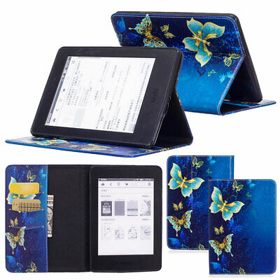 Patterns Flip PU Leather Wallet Case Cover For Amazon Kindle Paperwhite 1 2 3 4