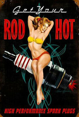 "Vintage Rod Hot Pin Up Girl  Art Photo Fridge Magnet 2""x 3"" Collectibles"